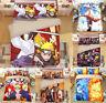 3PCS Naruto0 Bedding Set Soft Comforter Cover Quilt Cover Pillowcase Duvet Cover