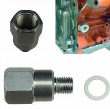 "For LS Swap Gauge Coolant Temperature Sensor Adapter M12-1.5 to 3/8"" NPT Metal"