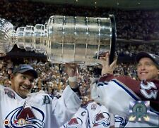 Colorado Avalanche Ray Bourque Patrick Roy Licensed Unsigned Glossy 8x10 Photo A