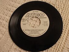 THE LOLLIPOPS NOTHING'S GONNA STOP OUR LOVE/SAME PROMO ATCO 6787 M-