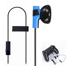 For Sony PS4 Playstation 4 Controller Play Game Headphone Earphone Earpiece +Mic