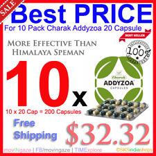 10x Charak Addyzoa 20Cap Increase Sperm Count More Potent Than Himalaya Speman
