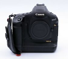 CANON EOS-1 Ds MARK III 21.1 MP DIGITAL CAMERA BODY SHUTTER COUNT 4,778