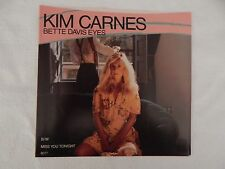 "KIM CARNES ""Bette Davis Eyes"" PICTURE SLEEVE! BRAND NEW! ONLY NEW COPY ON eBAY!"