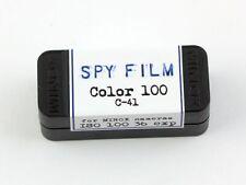 185306  Spy Film for MINOX Cameras- Color C-41 100 Speed, 36 exposure