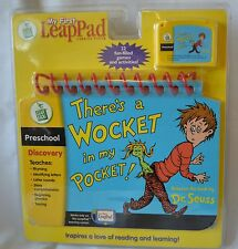 New My First Leap PAD Wocket in my POCKET Seuss Ages 3+ Letters Teach 2004