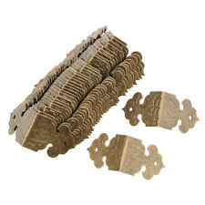 30 pcs Bronze Armoire De Meubles En Bois Boîte Coin Protecteur Garde Bord