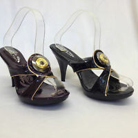 "New Ladies Womens Open Toe 4"" High Heels Sandals Party Shoes Wedding Formal Size"