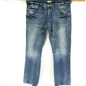 Private Blue Jeans PB-Culture 34x32 Distressed Faded Look Low Rise Casual Modern