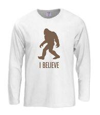 Bigfoot Long Sleeve T-Shirt Funny Sasquatch Squatchin Squatching Gone tee cool