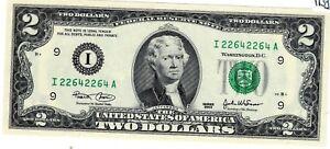 Etats UNIS AMERIQUE USA Billet 2 $ Dollars 2003 I MINNEAPOLIS REPEAT N° UNC NEUF