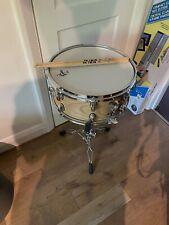 More details for gretsch maple wooden snare drum and vic firth sticks 14x5.5 new