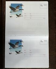 Canada Address Change Postcards in Joined Pairs – Mint – (Le1)