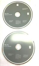 New listing Apple Mac Pro Applications Install & Mac Os X Install Dvd Lot of 2 Free Ship
