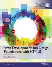 Web Development and Design Foundations with HTML5, Global Edition by Terry Felke-Morris (Mixed media product, 2014)