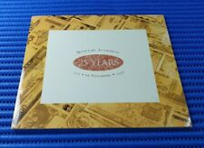 243098 1996 Singapore 25th Anniversary of MAS $25 Commemorative Note with Folder