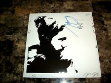 Rich Robinson Rare Signed Vinyl LP Record Through A Crooked Sun Black Crowes COA