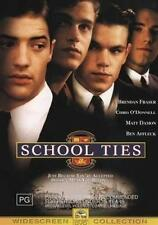 SCHOOL TIES Brendan Fraser, Matt Damon, Ben Affleck DVD NEW