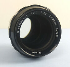 Nikon Nikkor P.C PC Auto 105mm F/2.5 Non Ai Lens Manual Focus - Tested GUC
