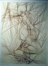 Guillaume Azoulay - Contraction - Ltd Ed Etching - Figurative Dancer