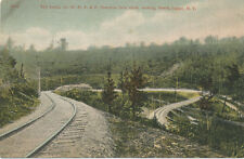 Olean NY * W.N.Y. and P. Traction Co. Loop ca. 1908 * Trolley Line