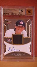 2009 UD USA Star Prospects Kevin Gausman Auto Jersey Card BGS 8.5 Auto 10