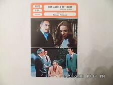 CARTE FICHE CINEMA 1973 DON ANGELO EST MORT Anthony Quinn Frederic Forrest
