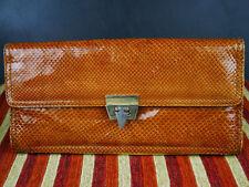 Vintage Genuine Lizard Beige  Bag - Rare