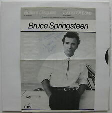 "BRUCE SPRINGSTEEN Brilliant Disguise 1987 BRAZIL Promo Only 12"" MINT"