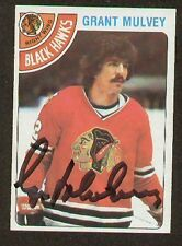 Grant Mulvey signed autographed Hockey Trading Card