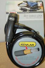 Bell Key cable lock 5 ft kevlar dupont lev 4 flexible steel bike lock bicycle
