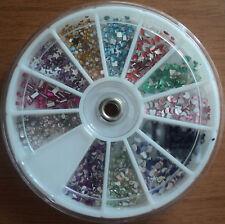 Ruota brillantini MISTI 12 disegni decorazione Nail Art