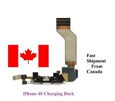 New White Charger Charging Port Dock Connector Flex Ribbon Cable For iPhone 4S