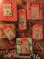 (X7) Emma Congdon Fun Gift Tags Christmas Cross Stitch Chart