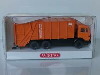 Wiking ( 639 / 2 ) - MB Preßmüllwagen Schörling- OVP - T@P