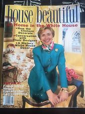 """House Beautiful magazine' 1994 """"Hillary Clinton in the White House"""""""