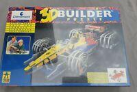 3D Builder Puzzle - Rennwagen / Race Car - 1997 Clementoni 101 Teile - Neu & Ovp