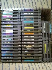 NES Video Games Lot (42 cartridges, no duplicates, cleaned/testing/working)