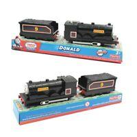 Original Thomas and Friends Donald Plastic Electric Train Set Children's Toys