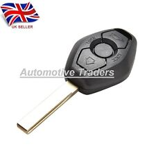 NEW For BMW 3 5 X series 3 BUTTON REMOTE KEY FOB case with blank blade HU92R A58