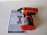 Black & Decker BDCI202 20V 20 Volt Max* Lithium-Ion 1/4 Hex IMPACT DRIVER NEW