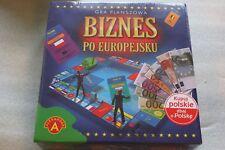 Biznes po Europejsku Gra strategiczna Towarzyska planszowa Polish NEW