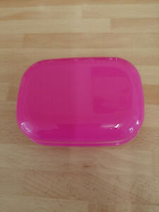SOAP BOX DISH WITH SECURE LID COLOUR PINK