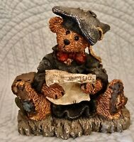 Boyds Bears Friends Bearstone Resin Figurine Grenville the Graduate 2233 No Box