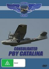 PBY CATALINA - LEGENDS OF THE AIR - NEW DVD FREE LOCAL POST