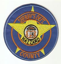 +  THE DUKES OF HAZZARD TV-Show Aufnäher Patch Sheriffs Dept. Hazzard County