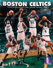 2002 BOSTON CELTICS TEAM COMPOSITE 8X10 PHOTO