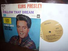 "Elvis Presley, Follow That Dream +3, Rock'n'Roll. EP RCA 20271, New Zealand, 7"""