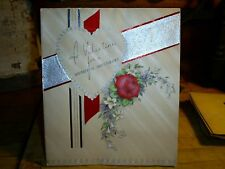 Vintage Unused Valentine's Day Sweetheart Message Greeting Card Volland U.S.A.