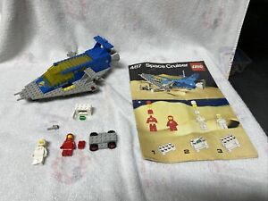 AS IS used vintage LEGO 487 Classic Space Cruiser incomplete